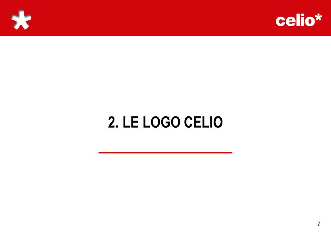 2.1 LOGOTYPE 8 Le logo représente limage de la marque.