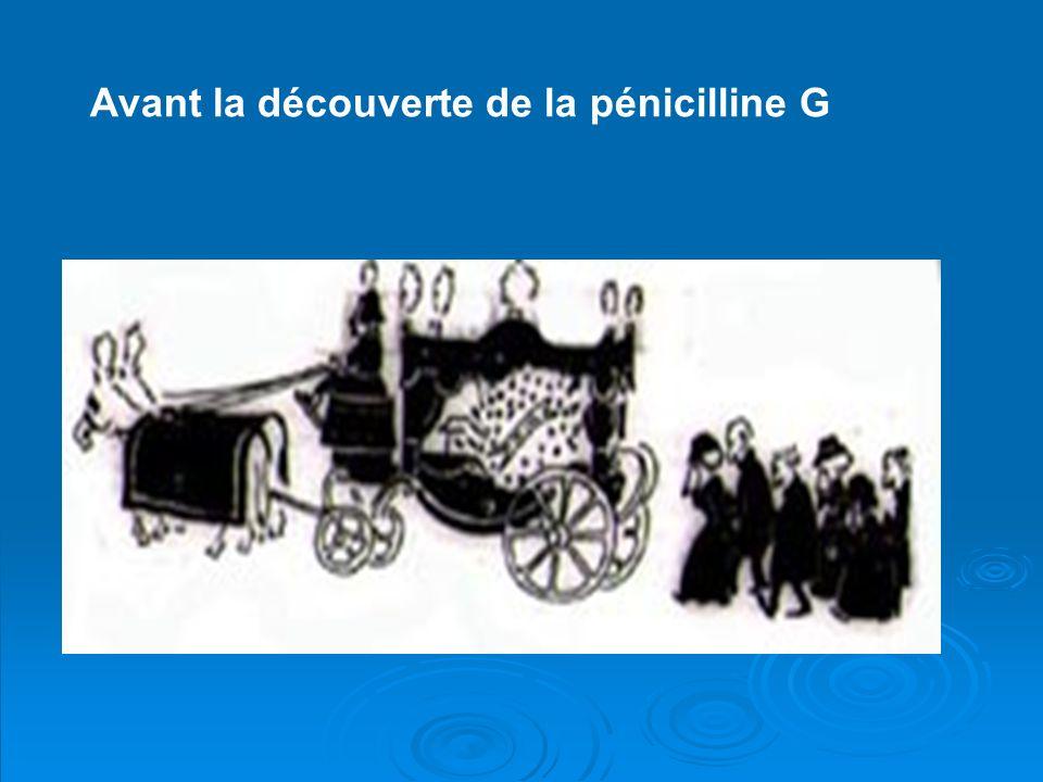 Avant la découverte de la pénicilline G