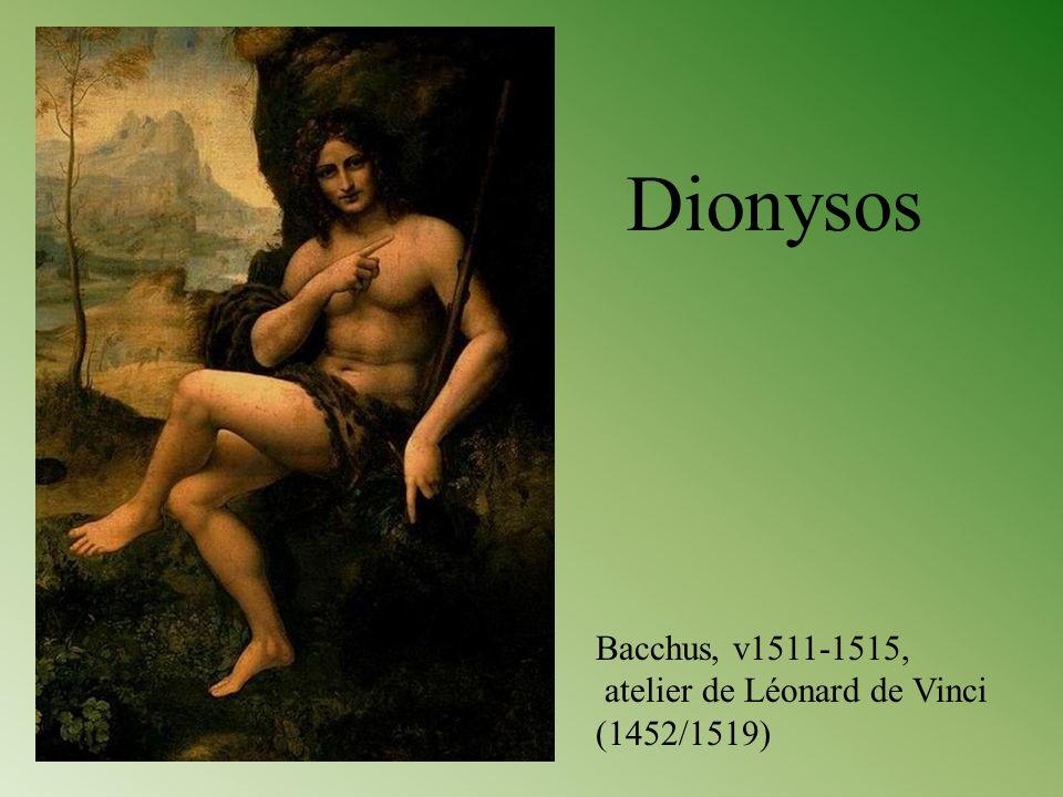 Bacchus, v1511-1515, atelier de Léonard de Vinci (1452/1519) Dionysos
