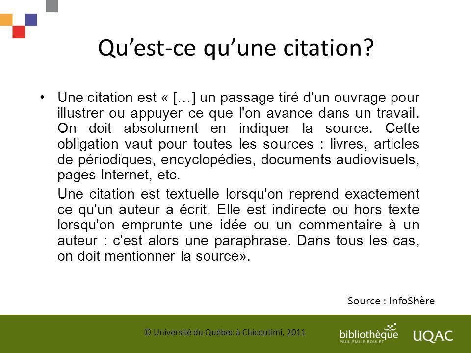Sources Diapason.(2012). Citer ses sources et éviter le plagiat.