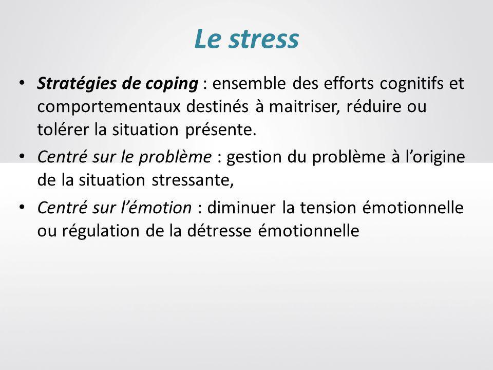 Le stress : un facteur de risque cardio vasculaire.