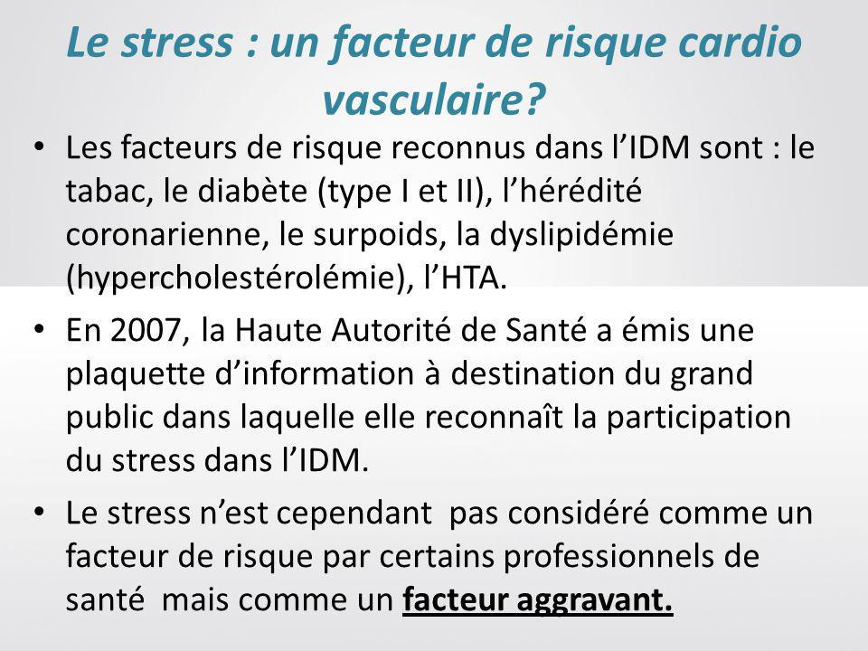 Le stress au travail : quels impacts.