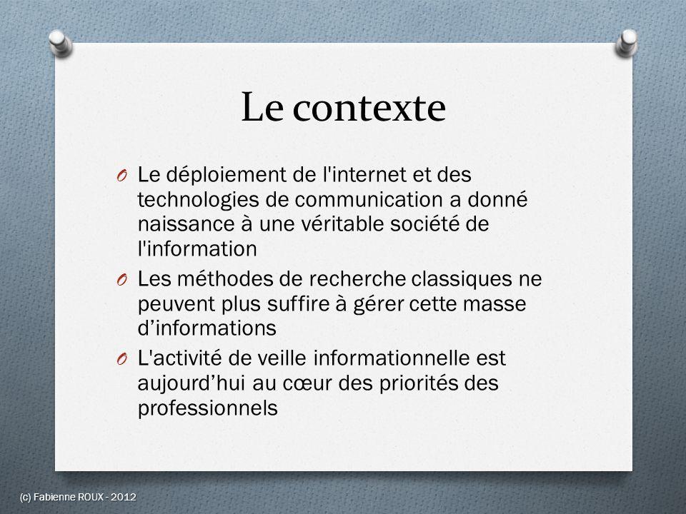 Conclusion (c) Fabienne ROUX - 2012