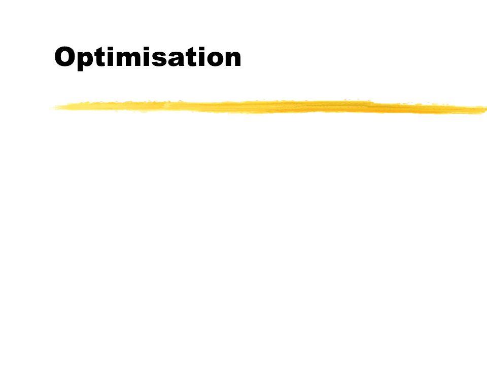 Optimisation
