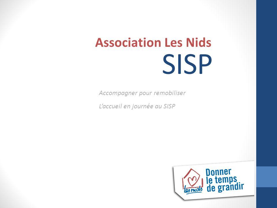 SISP Association Les Nids Accompagner pour remobiliser Laccueil en journée au SISP