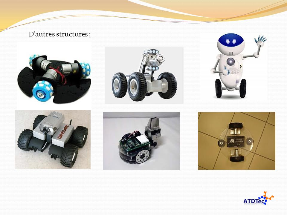 Dautres structures :