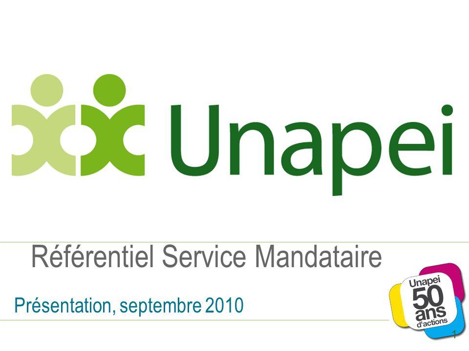 Référentiel Service Mandataire Présentation, septembre 2010 1