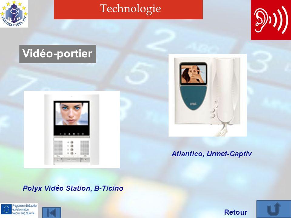 Technologie Retour Vidéo-portier Polyx Vidéo Station, B-Ticino Atlantico, Urmet-Captiv