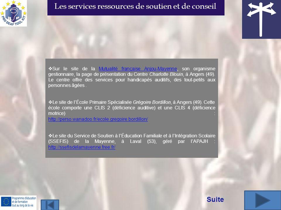 Sur le site de la Mutualité française Anjou-Mayenne, son organisme gestionnaire, la page de présentation du Centre Charlotte Blouin, à Angers (49).