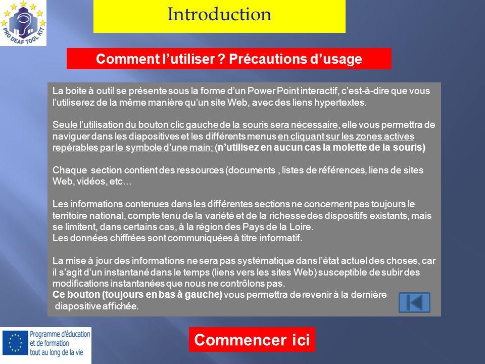Introduction Comment lutiliser .