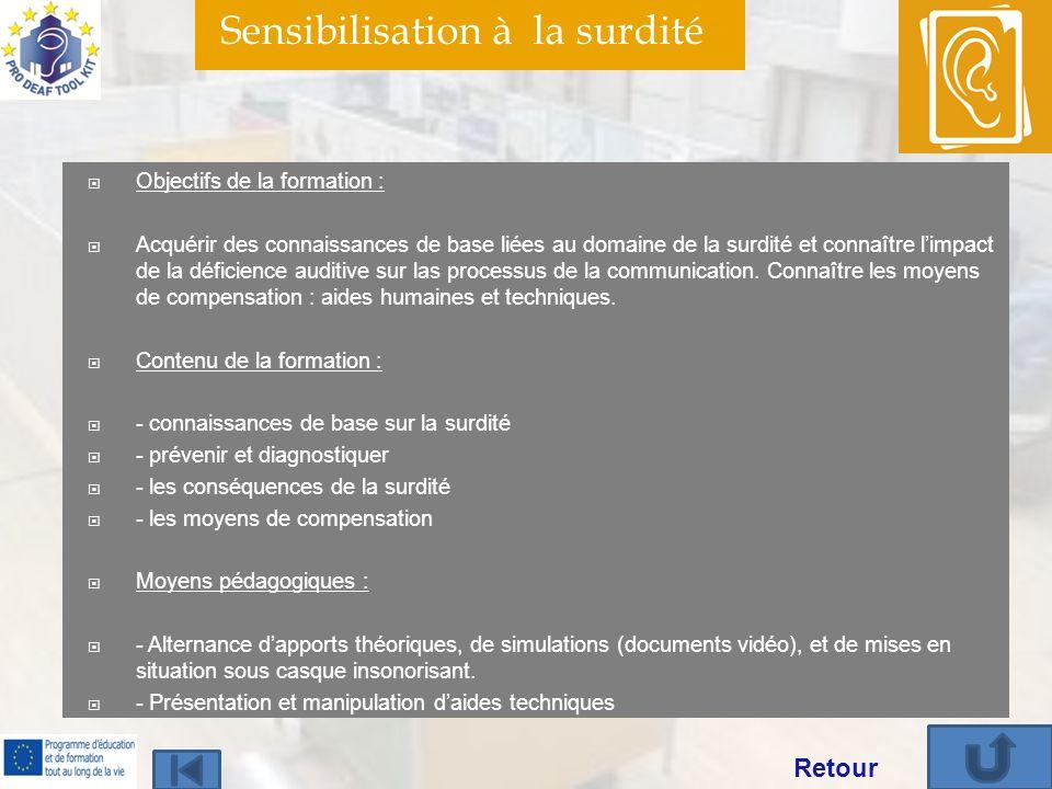 Sensibilisation à la surdité Centre Information sur la Surdité de Franche–Comté MDPH du DOUBS 6C Boulevard Diderot 25000 Besançon tél.