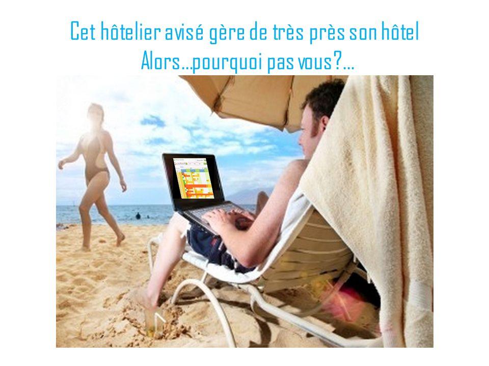 Cet hôtelier avisé gère de très près son hôtel Alors…pourquoi pas vous?…