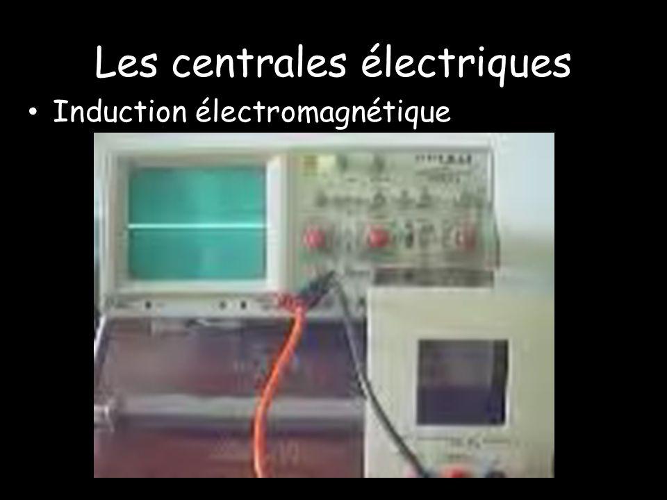 Les centrales électriques Induction électromagnétique