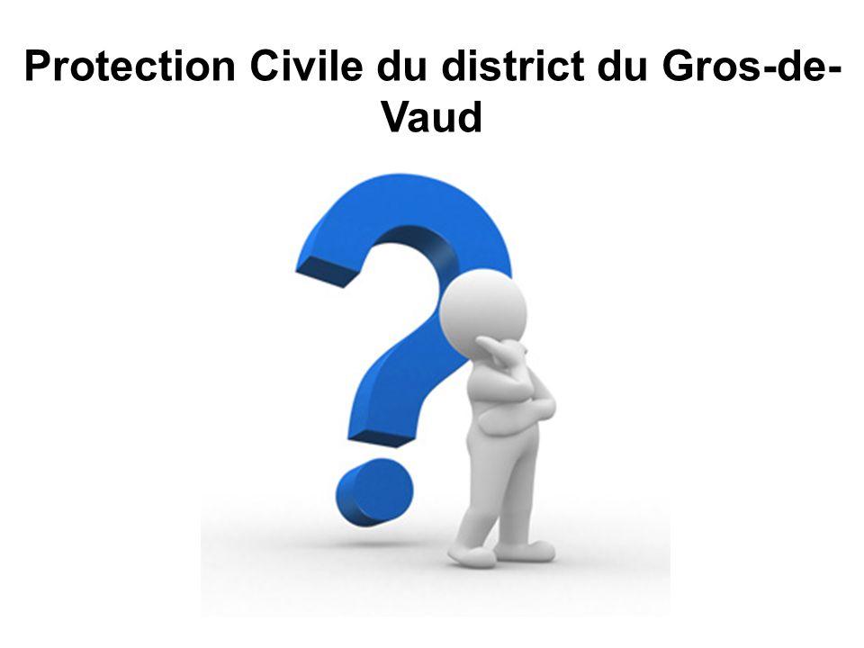 Protection Civile du district du Gros-de- Vaud