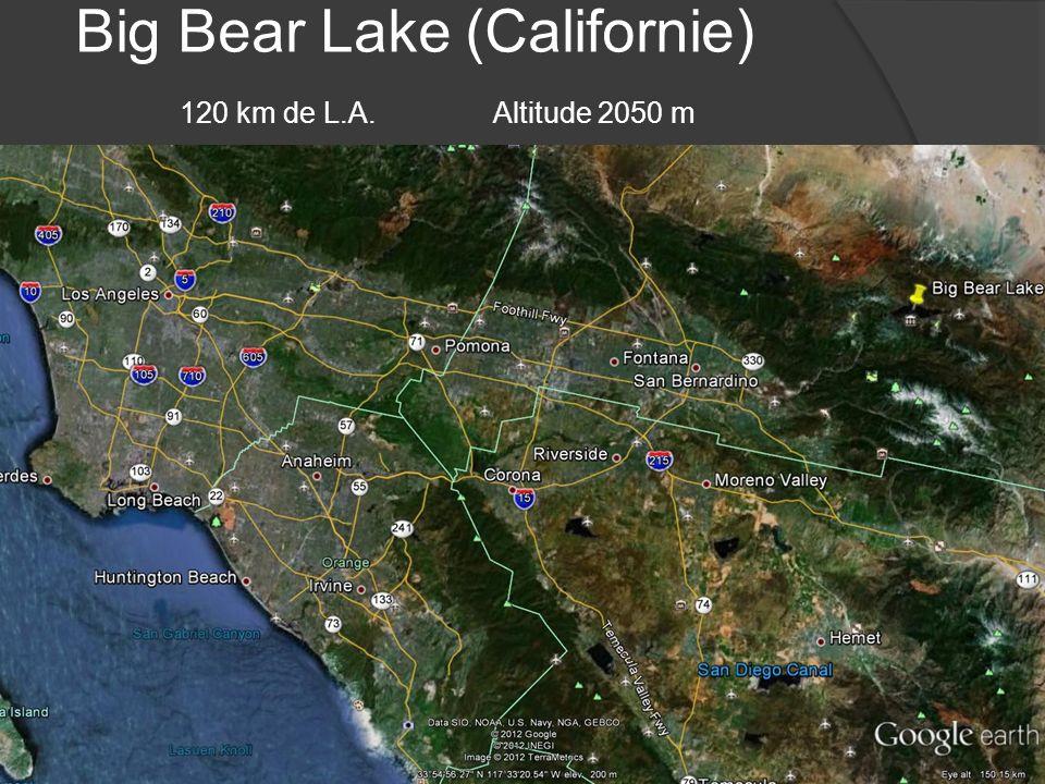 Big Bear Lake (Californie) 120 km de L.A. Altitude 2050 m