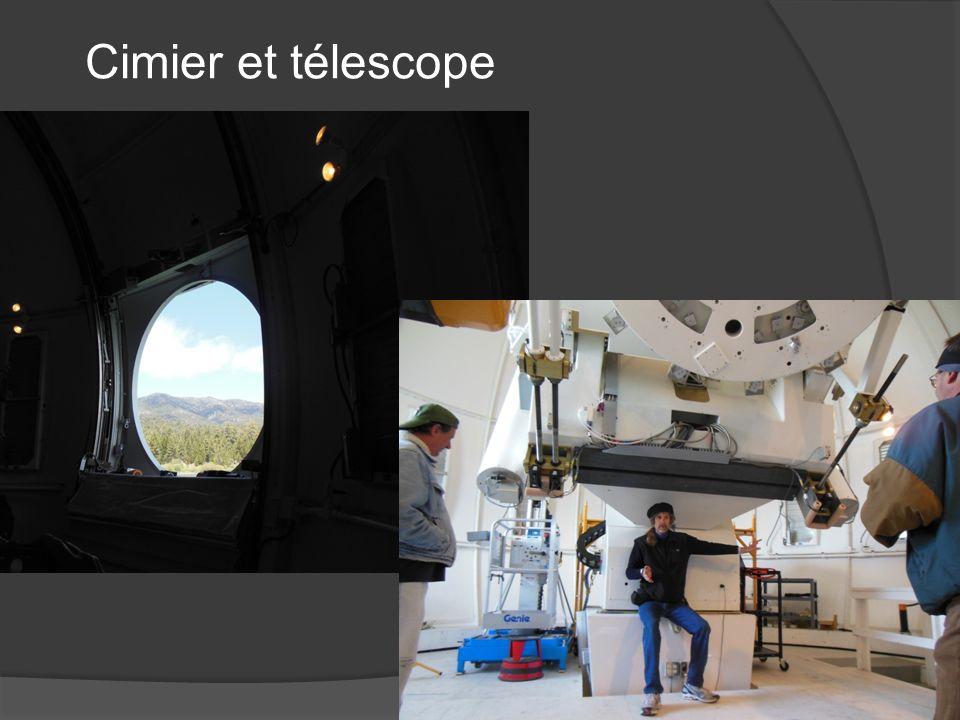 Cimier et télescope