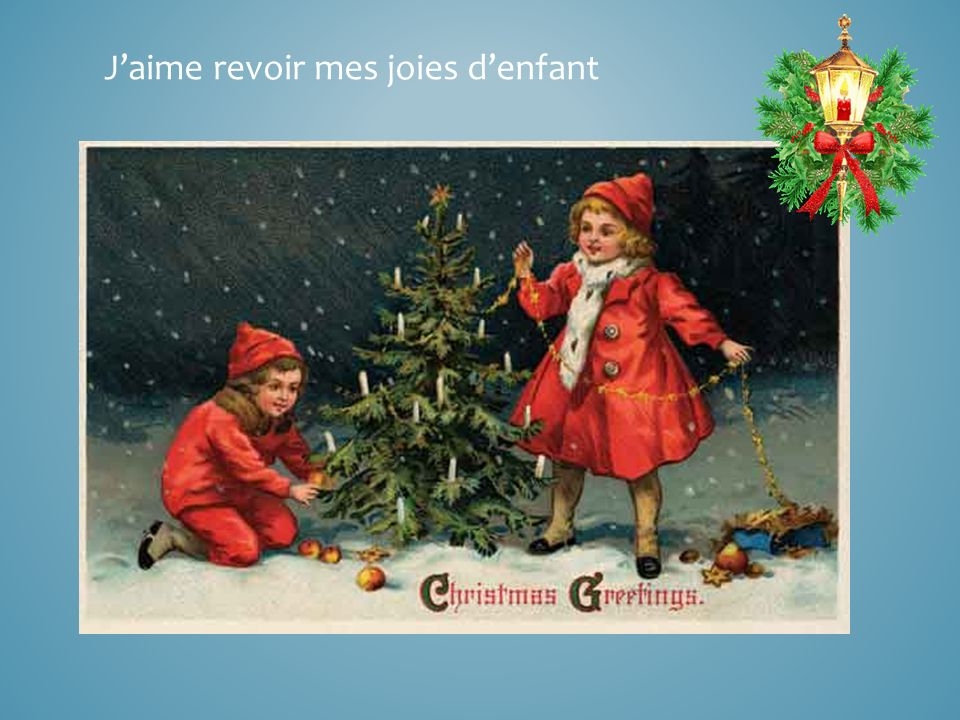 Oh ! Quand jentends chanter Noël