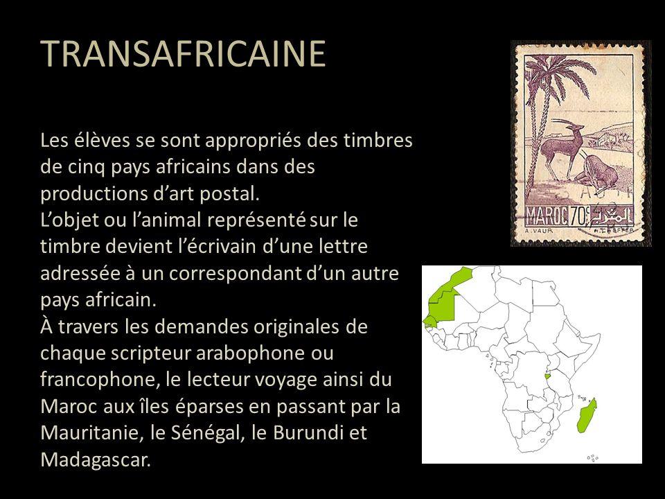ART POSTAL Lart postal serait né avec le timbre.