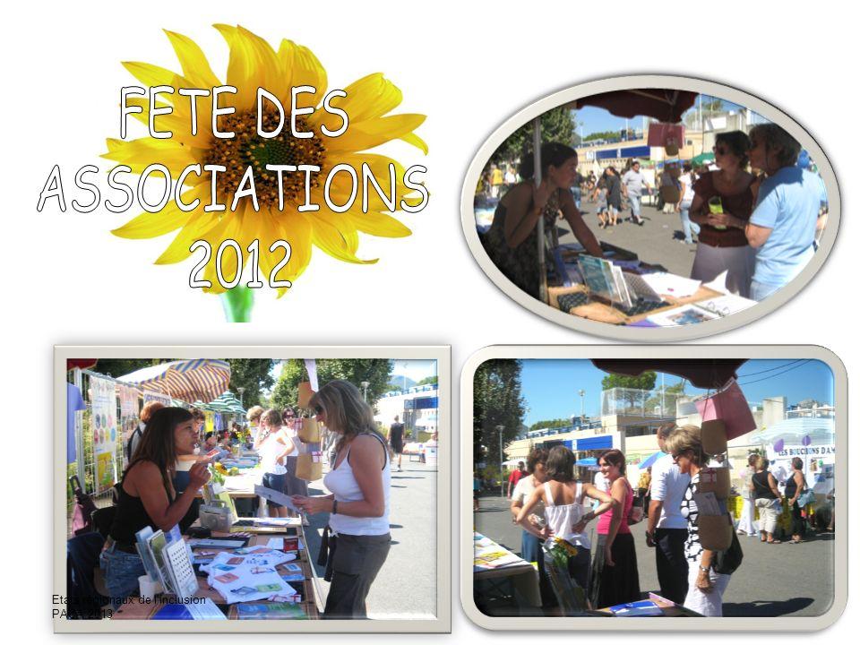 FETE DES ASSOCIATIONS 2007 Etats régionaux de l'inclusion PACA 2013