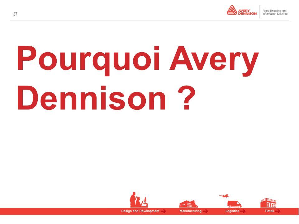 37 Pourquoi Avery Dennison