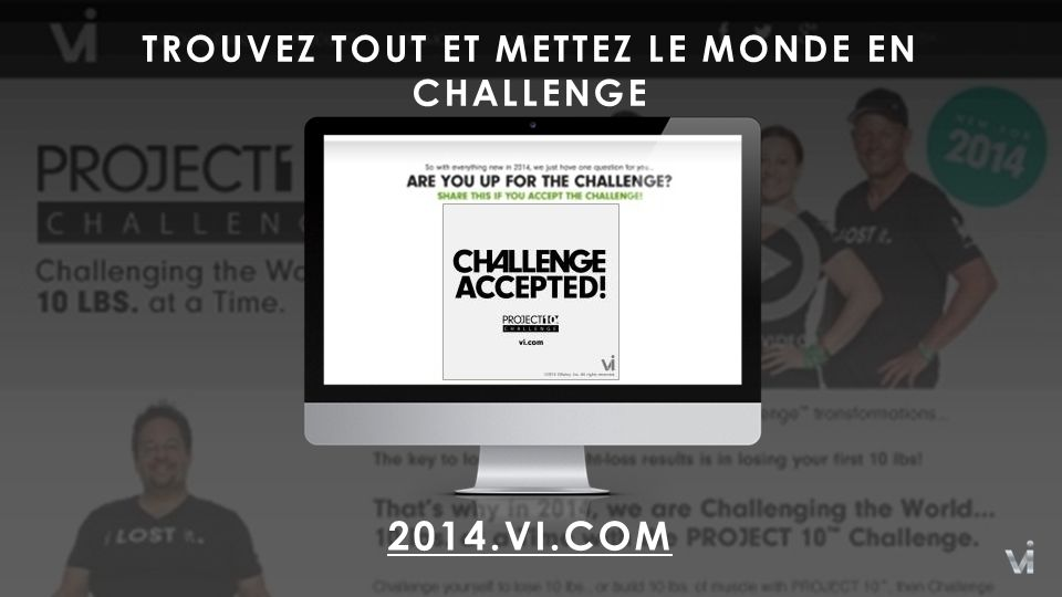TROUVEZ TOUT ET METTEZ LE MONDE EN CHALLENGE 2014.VI.COM