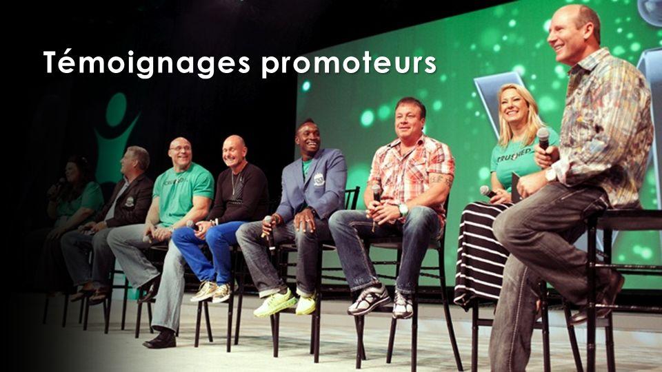 Témoignages promoteurs