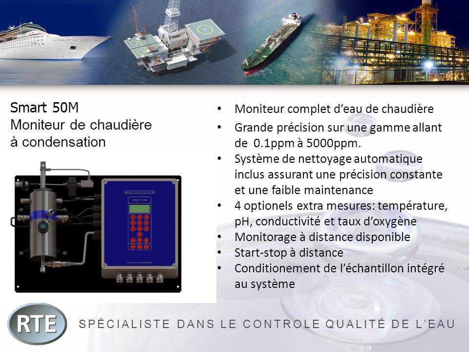 SPÉCIALISTE DANS LE CONTROLE QUALITÉ DE LEAU Smart 50M Moniteur de chaudière à condensation Moniteur complet deau de chaudière Grande précision sur un