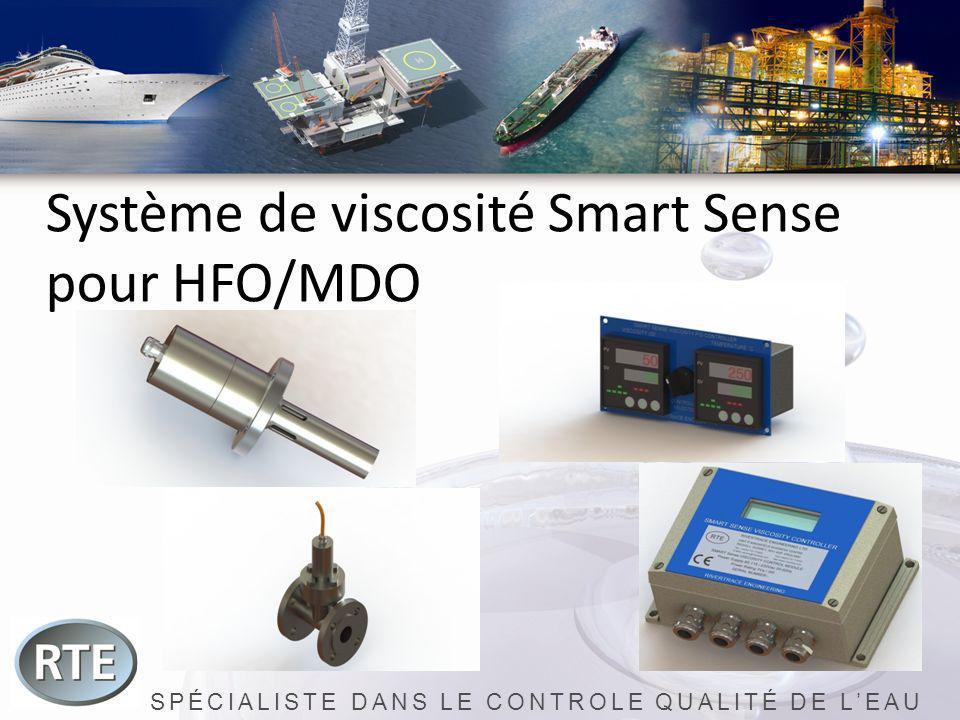SPÉCIALISTE DANS LE CONTROLE QUALITÉ DE LEAU Système de viscosité Smart Sense pour HFO/MDO