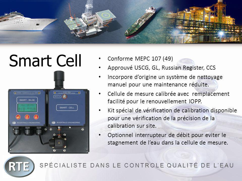 SPÉCIALISTE DANS LE CONTROLE QUALITÉ DE LEAU Smart Cell