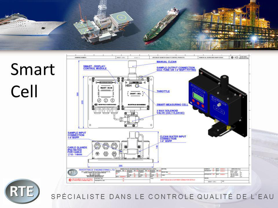SPÉCIALISTE DANS LE CONTROLE QUALITÉ DE LEAU Smart Safe Enregistrement électronique de la concentration deau huileuse.