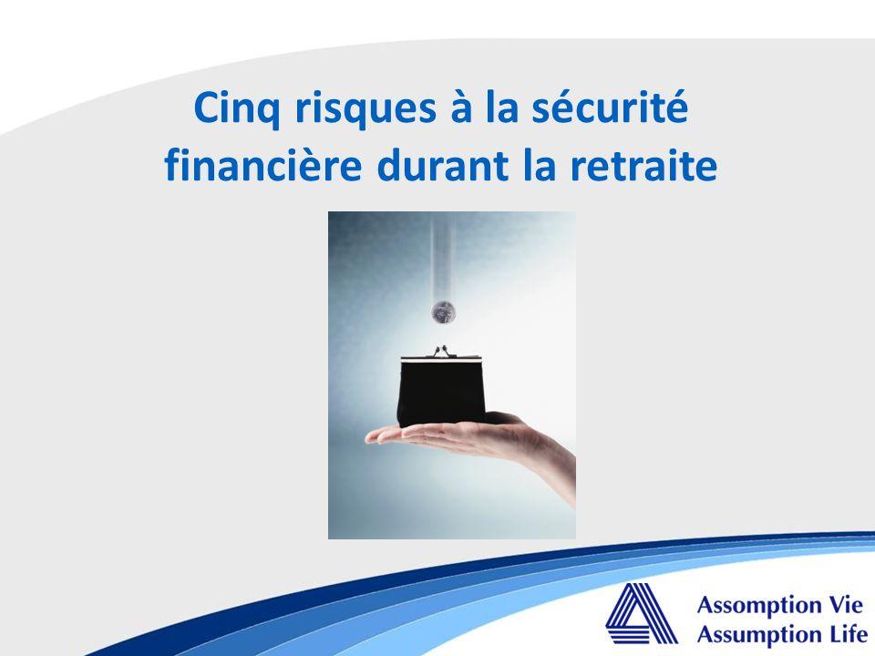 Cinq risques à la sécurité financière durant la retraite