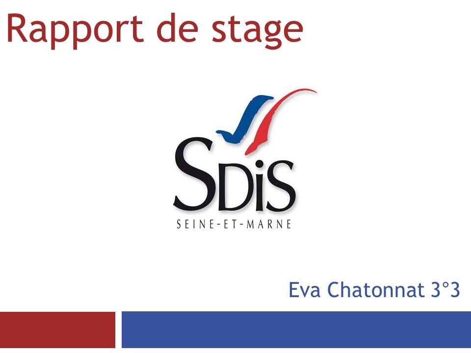 Rapport de stage Eva Chatonnat 3°3