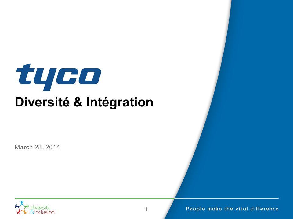 22 Présentation La diversité et lintégration sont des parties intégrantes de notre entreprise.