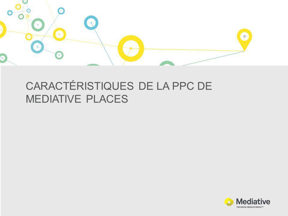 CARACTÉRISTIQUES DE LA PPC DE MEDIATIVE PLACES