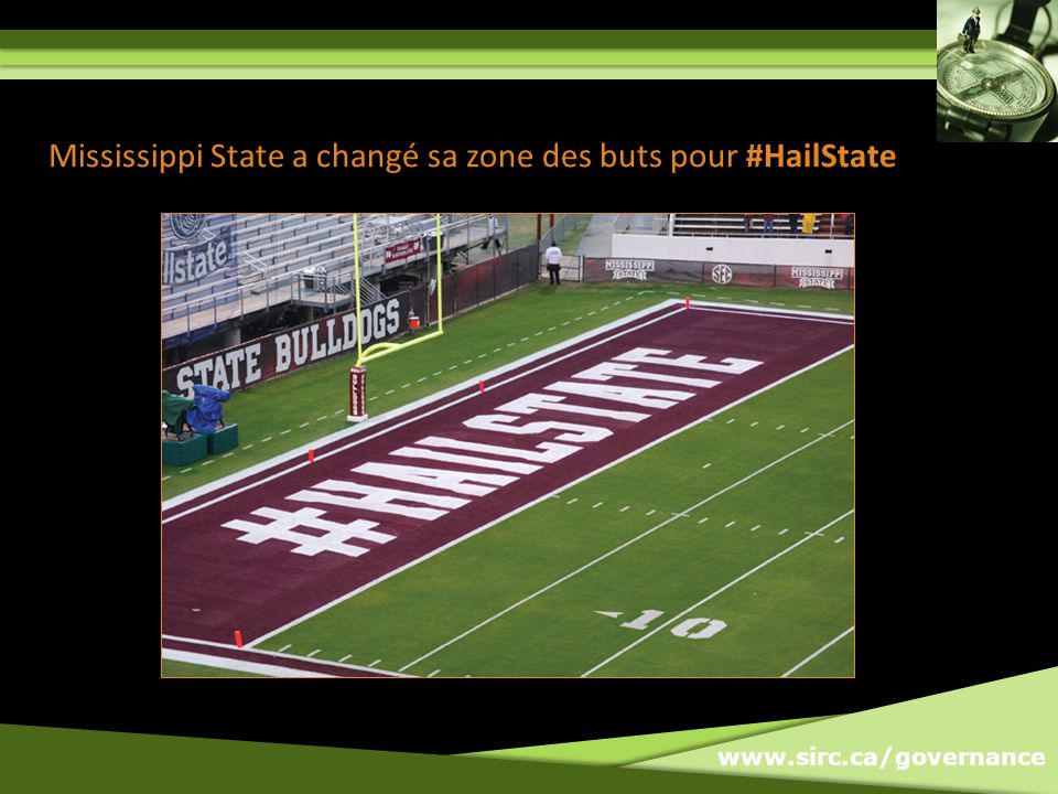www.sirc.ca/governance Mississippi State a changé sa zone des buts pour #HailState