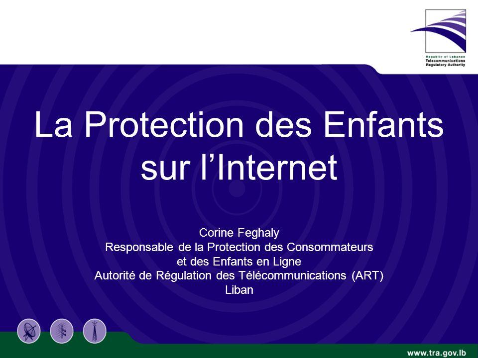 TRA Proprietary 10/14/2010 1/20 La Protection des Enfants sur lInternet Corine Feghaly Responsable de la Protection des Consommateurs et des Enfants en Ligne Autorité de Régulation des Télécommunications (ART) Liban