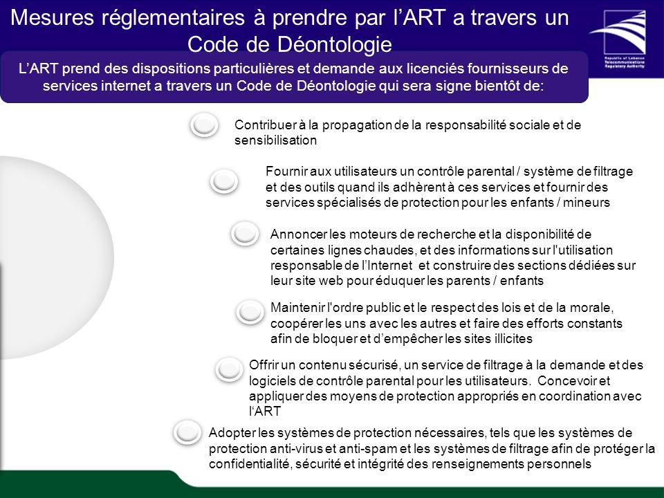 TRA Proprietary 7 1/20 TRAs role in e-Health Contribuer à la propagation de la responsabilité sociale et de sensibilisation Fournir aux utilisateurs u