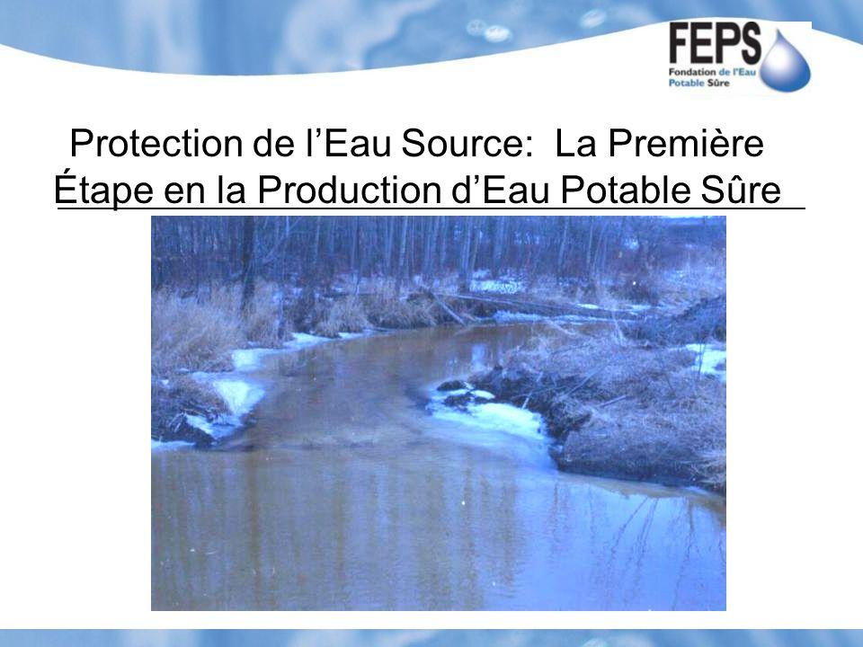 Protection de lEau Source: La Première Étape en la Production dEau Potable Sûre