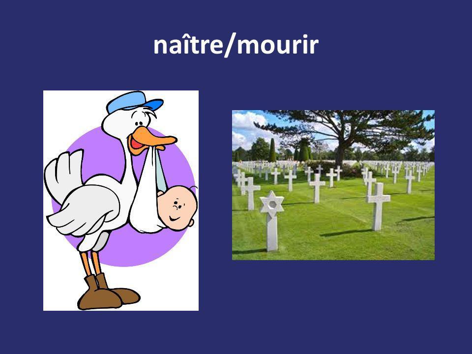 naître/mourir