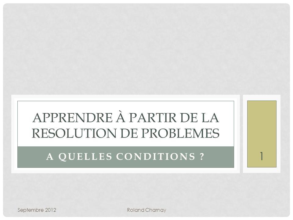 DES PROBLÈMES DE DIFFICULTÉ DIFFÉRENTE Un problème réussi précocement Pierre a 23 images.
