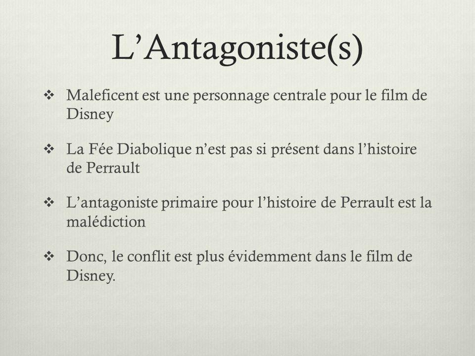 LAntagoniste(s) Maleficent est une personnage centrale pour le film de Disney La Fée Diabolique nest pas si présent dans lhistoire de Perrault Lantago