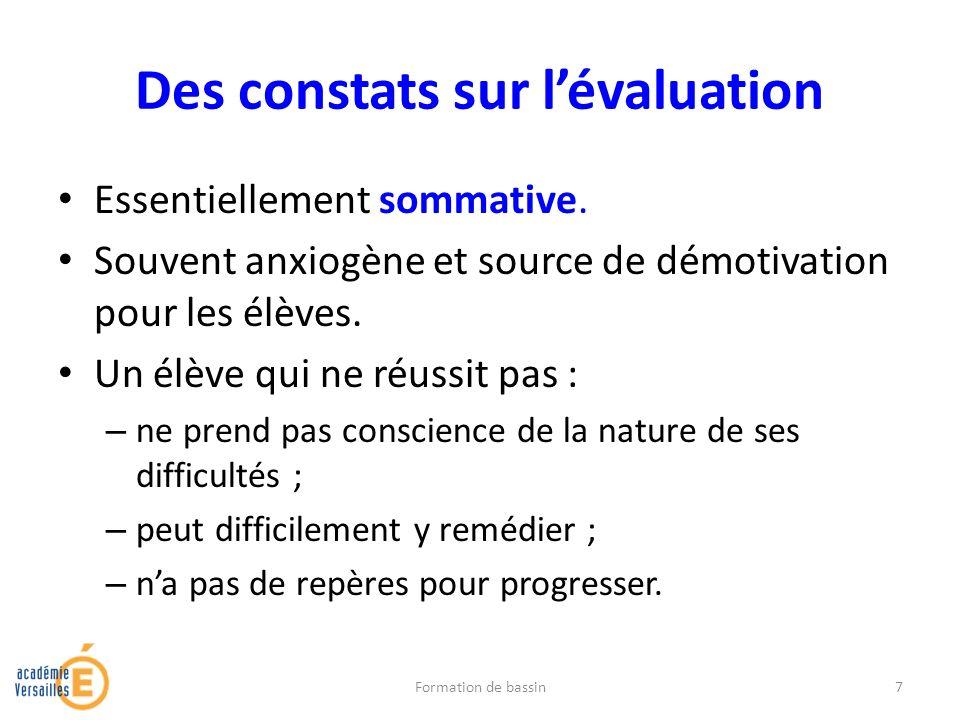 Le constat du programme PISA* Les élèves français réussissent très correctement les tâches simples.