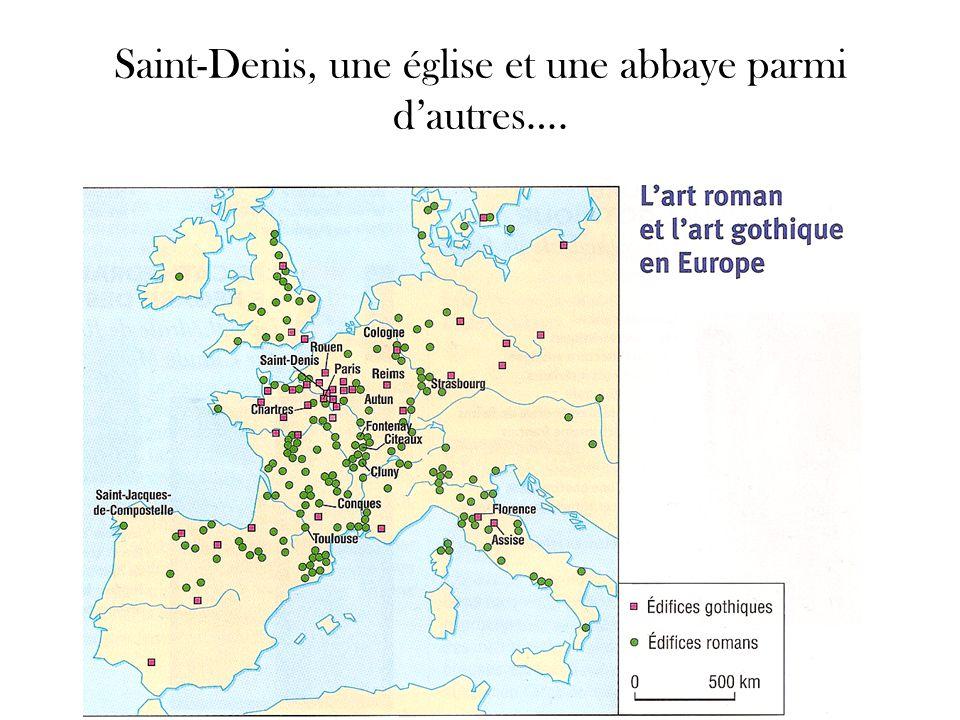 Saint-Denis, une église et une abbaye parmi dautres….