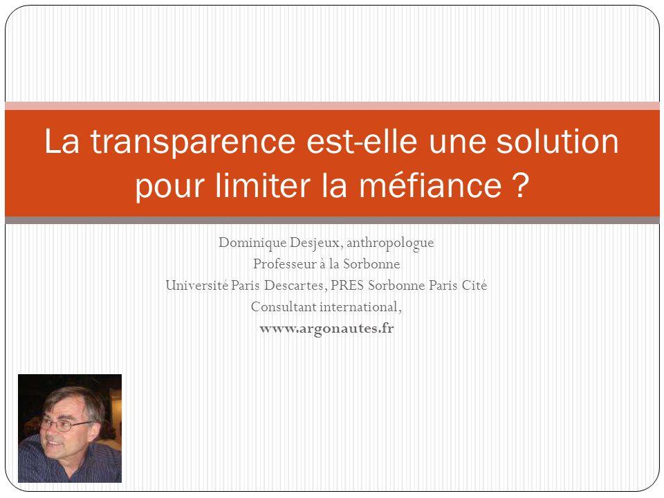 Dominique Desjeux, anthropologue Professeur à la Sorbonne Université Paris Descartes, PRES Sorbonne Paris Cité Consultant international, www.argonaute