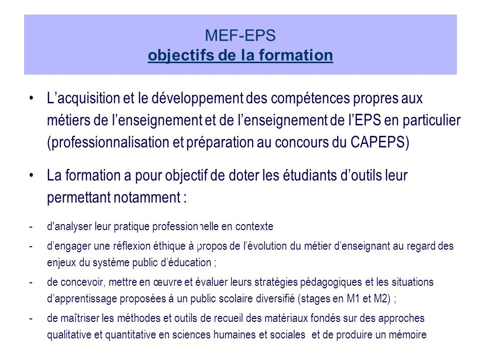 Vise la formation de réathlétiseurs (coach) « medical trainers » STCS (Sciences et Techniques du Coaching Sportif) - PPR (Réathlétisation) Pour quels organismes .