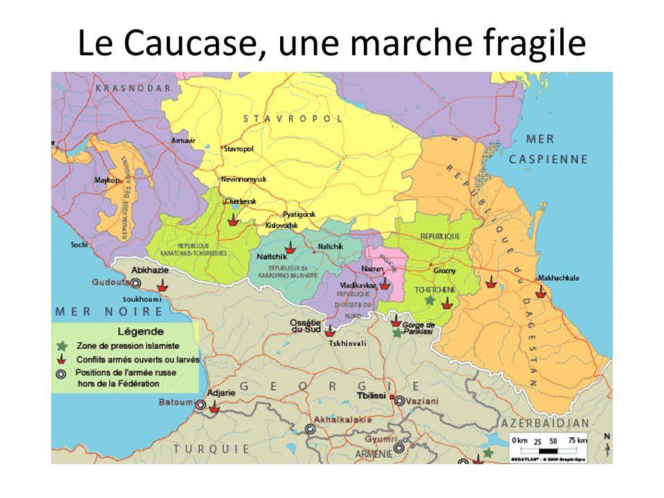Le Caucase, une marche fragile