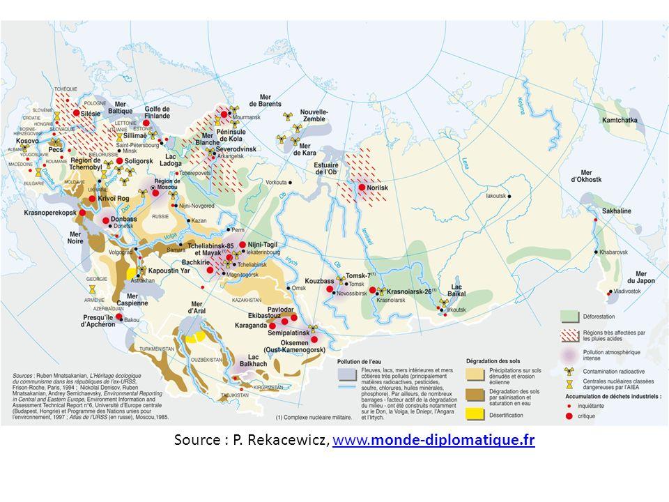 Source : P. Rekacewicz, www.monde-diplomatique.frwww.monde-diplomatique.fr
