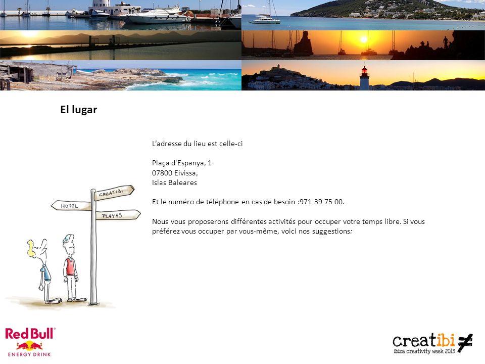 El lugar Ladresse du lieu est celle-ci Plaça d Espanya, 1 07800 Eivissa, Islas Baleares Et le numéro de téléphone en cas de besoin :971 39 75 00.
