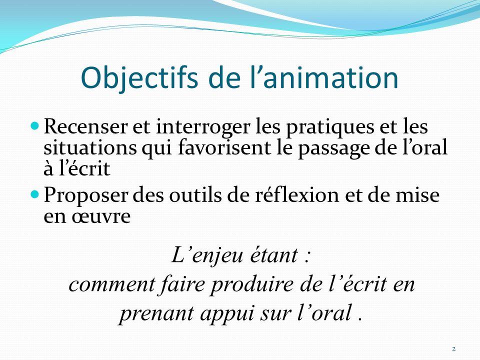 Ne pas confondre « dictée à ladulte » et … Écrire strictement ce que dit lenfant : on reste dans de la transcription de langage oral.