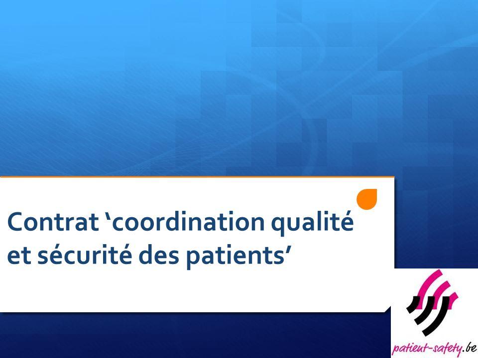 Contrat coordination qualité et sécurité des patients